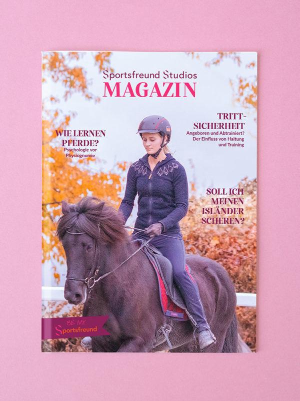 Cover Sportsfreund Magazin für Islandpferde Reiterinnen