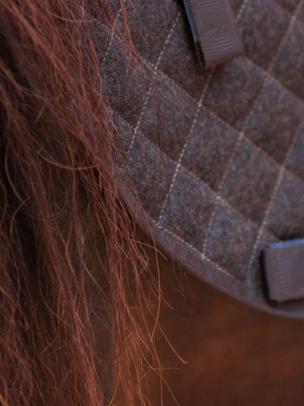 Satteldecke aus Wolle für Islandpferde